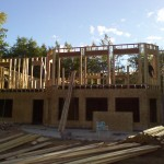 03-GwinnCustomHome-RearFraming